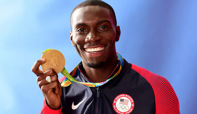 Kerron Clement is one of the most decorated Olympians to ever come out publicly. Photo by Harry How/Getty Images