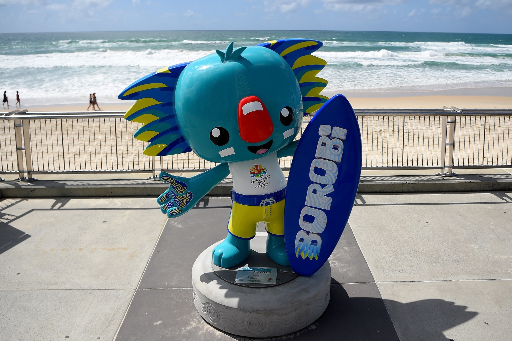 The mascot at the Gold Coast 2018 Commonwealth Games was a nod towards Australia's Yugambeh people ©Getty Images